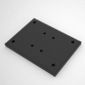 Single Post Base Plate